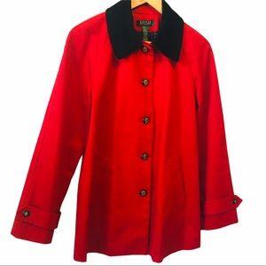 NWOT Lauren Ralph Lauren Jacket Size Petite Large